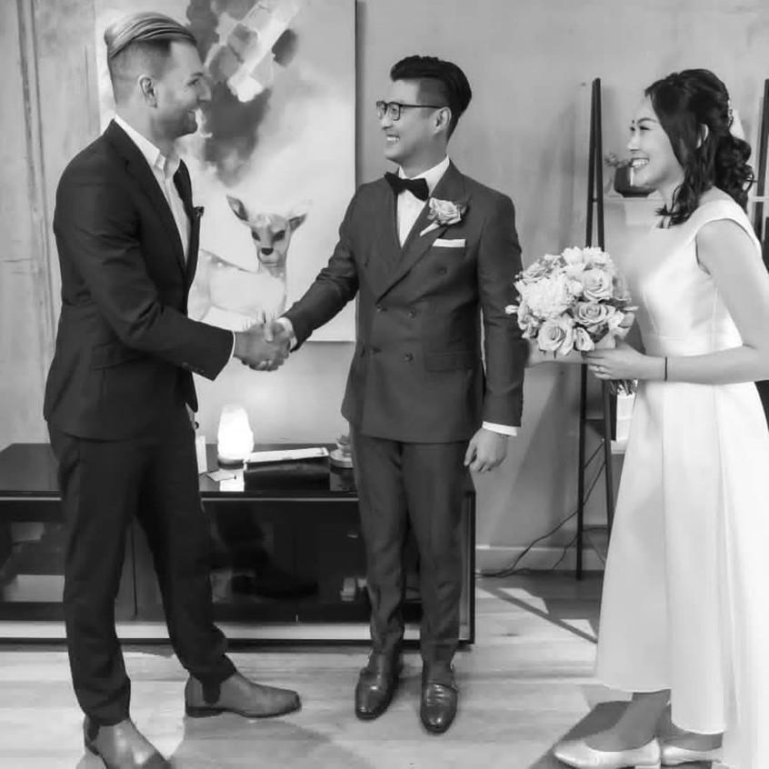 benn stone paperwork wedding