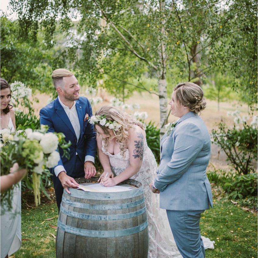 best male wedding celebrant melbourne