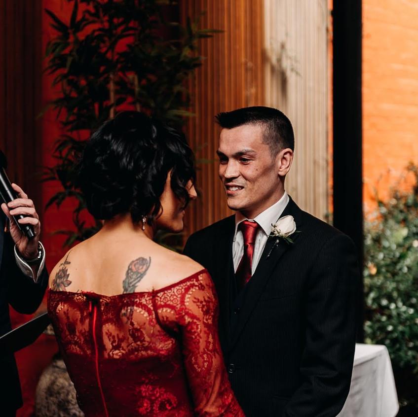 male wedding celebrants
