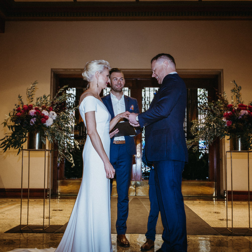male wedding celebrant's melbourne