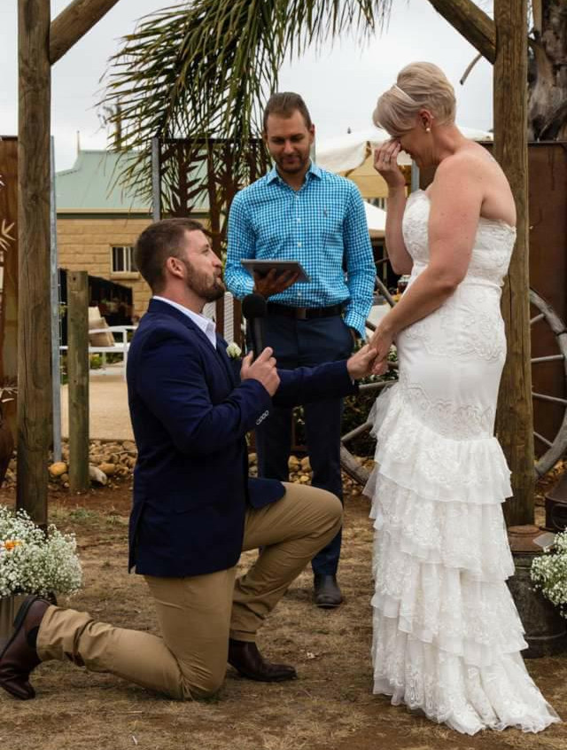wedding celebrant's not old or boring Melbourne