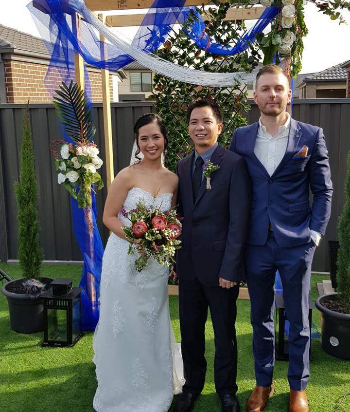 awesome melae wedding celebrants