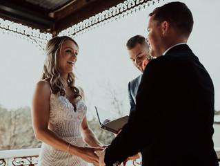 Melbourne's best intimate fun relaxed male wedding celebrant, Benn stone