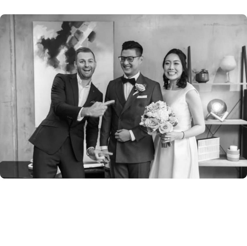 wedding celebrants fun melb