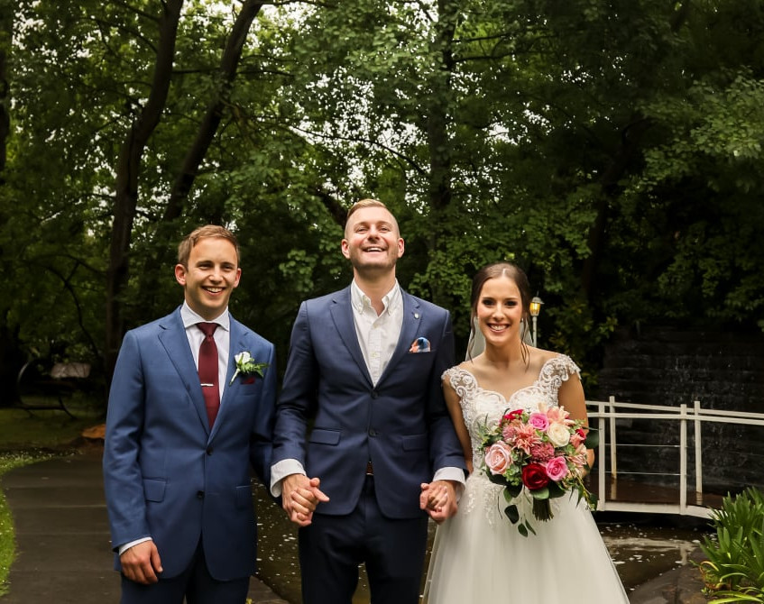male wedding cool celebrants