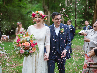 A wedding in the forest!