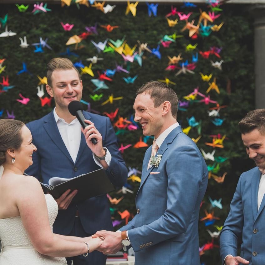 benn stone weddings best melbourne celebrant