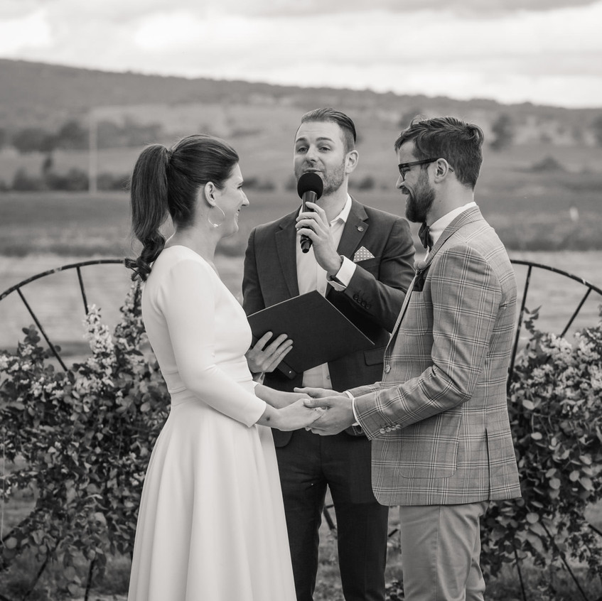 fun young awesome wedding celebrant melbourne