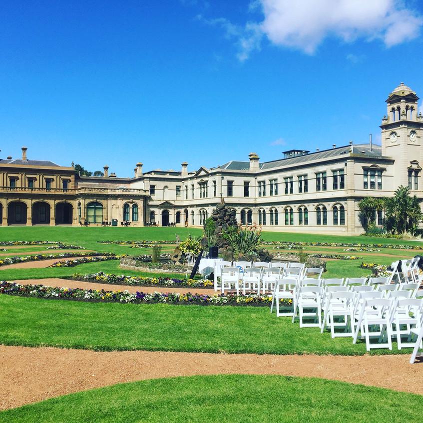 weribee mansion weddings