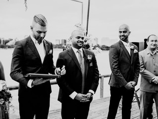 Modern fun wedding officiant Melbourne
