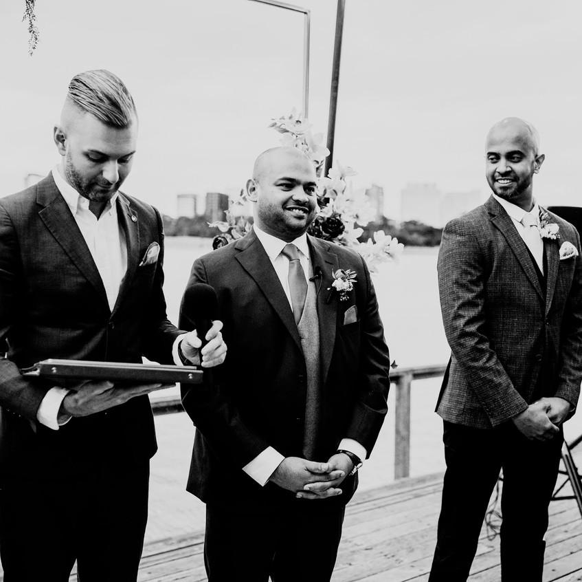 male wedding officiants melbourne