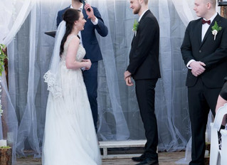 Backyard Wedding's In Melbourne With Style! Benn Stone Male Fun Celebrant