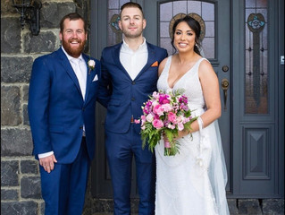 Young relaxed male wedding celebrant's Melbourne