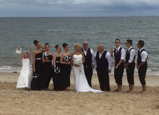 Congrats Vicky and Alf
