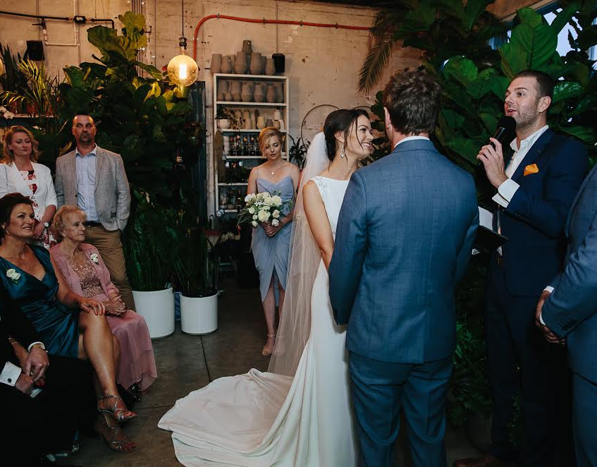 melbourne wedding celebrant richmond glasshaus benn stone male