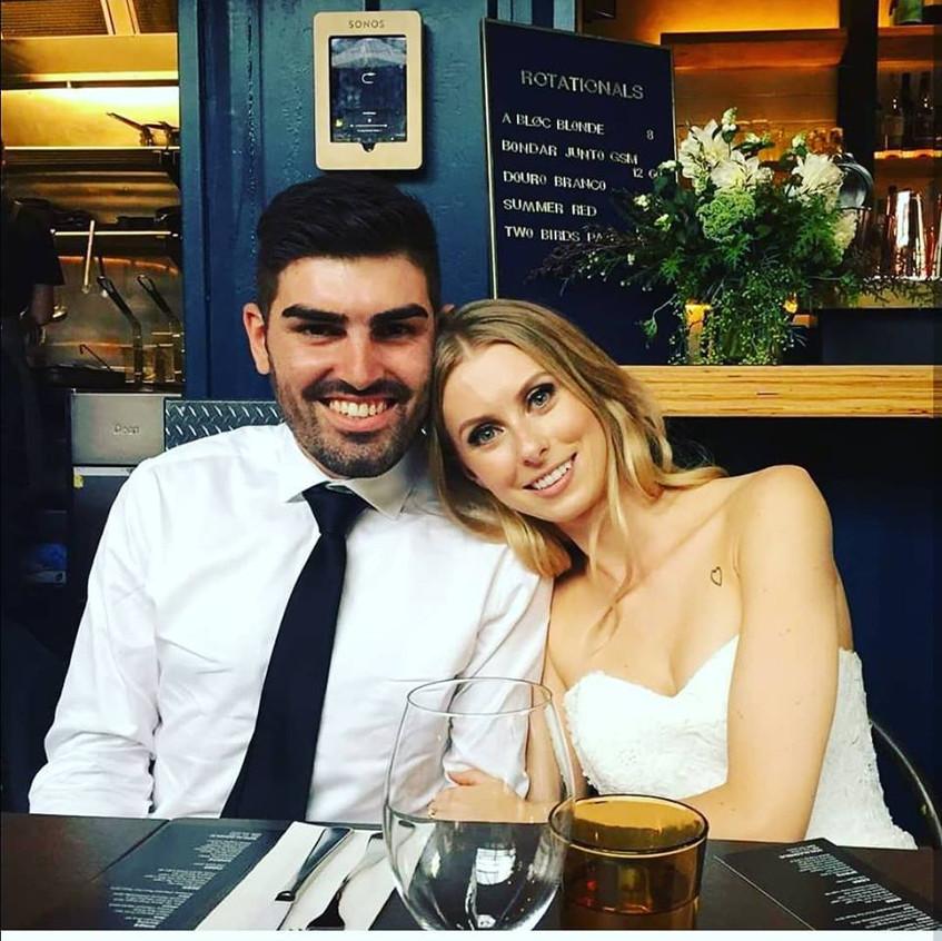 youhtful modern individual wedding celebrant