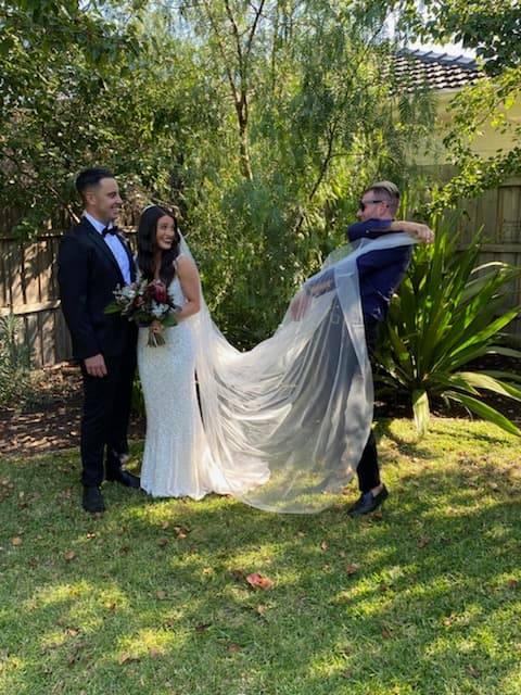 backyard wedding celebrant