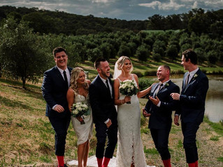 Fun relaxed wedding celebrant Melbourne
