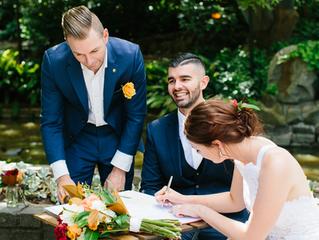 Fun male wedding celebrant's Melbourne