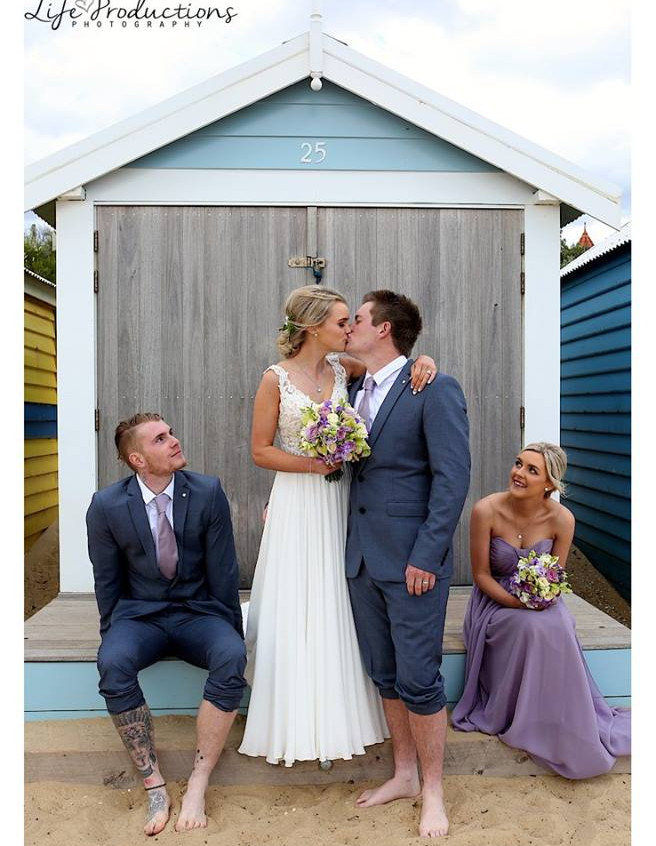 benn stone beach wedding celebrant melbourne