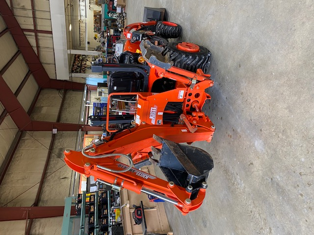 2015 Kioti CS2410 with loader and Backhoe unit