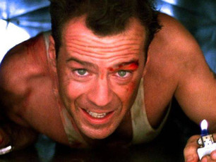 Die Hard: a great moment of storytelling in a great movie