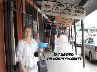 Arrival in Livingstone Zambia