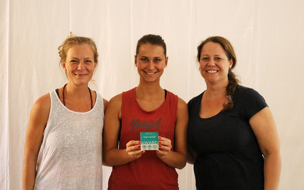Yoga Teacher Award-Verleihung. Copyright: Yogawege