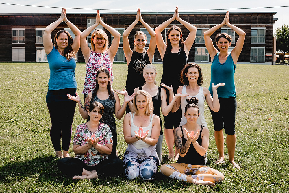 Ausbildungsgruppe Leibnitz. Copyright: Yogawege
