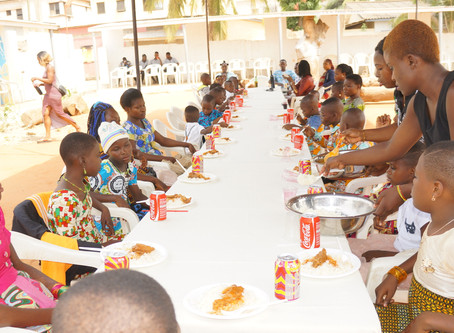 Noël 2017 à Lomé avec les enfants