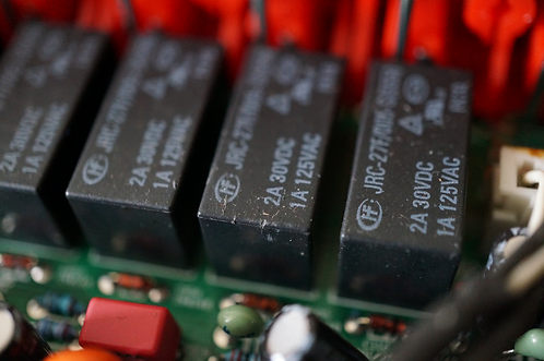 Poor quality and cheap relays not made for signal as used.