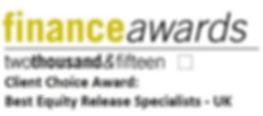 Finance awards 2015