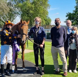 Johnny Boom and members at Beverley