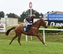 Johnny Boom at Yarmouth courtesy of Leaderboard Photography