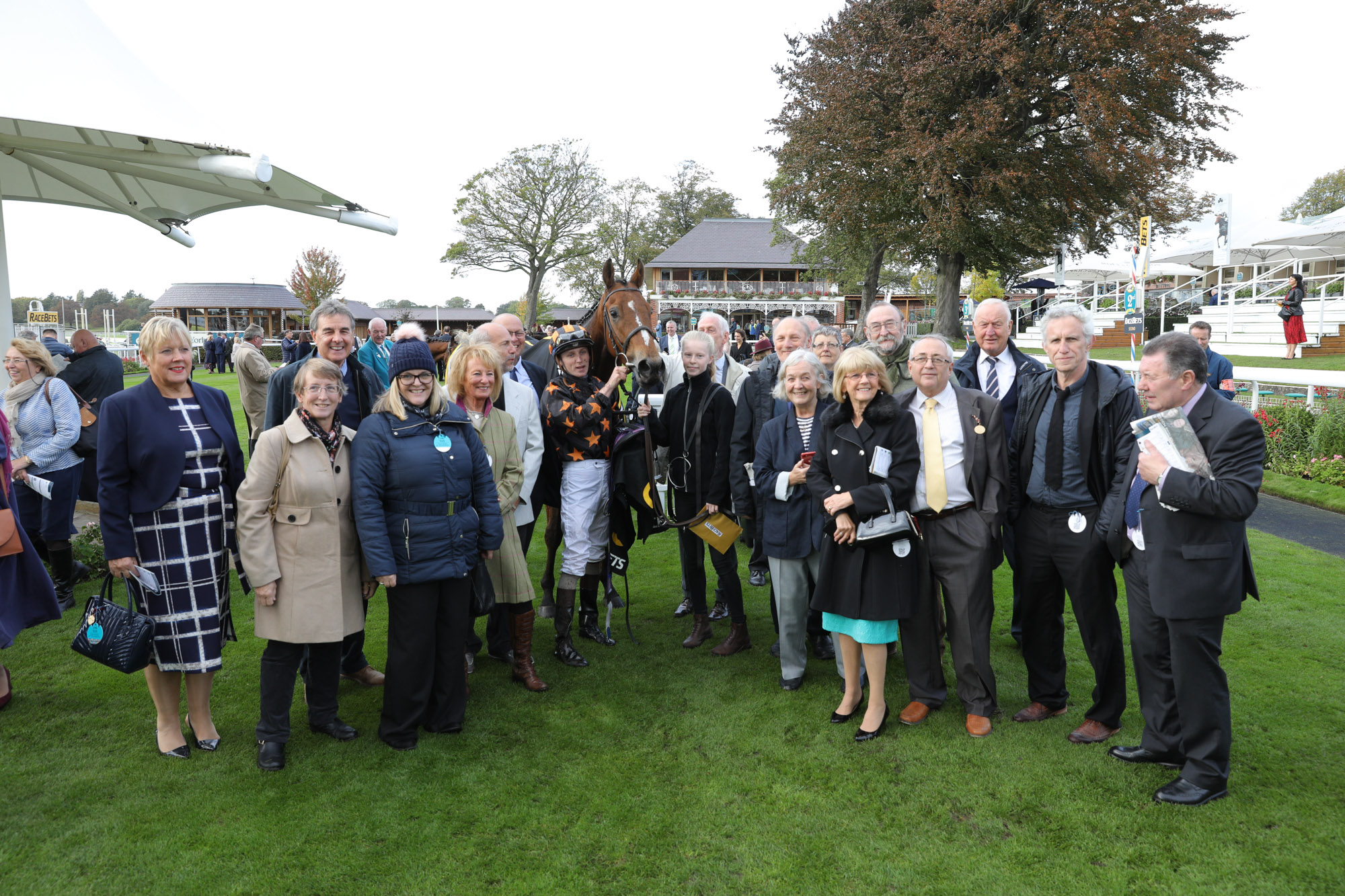 Members with Crownthorpe at York