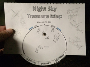 Night Sky Treasure Map