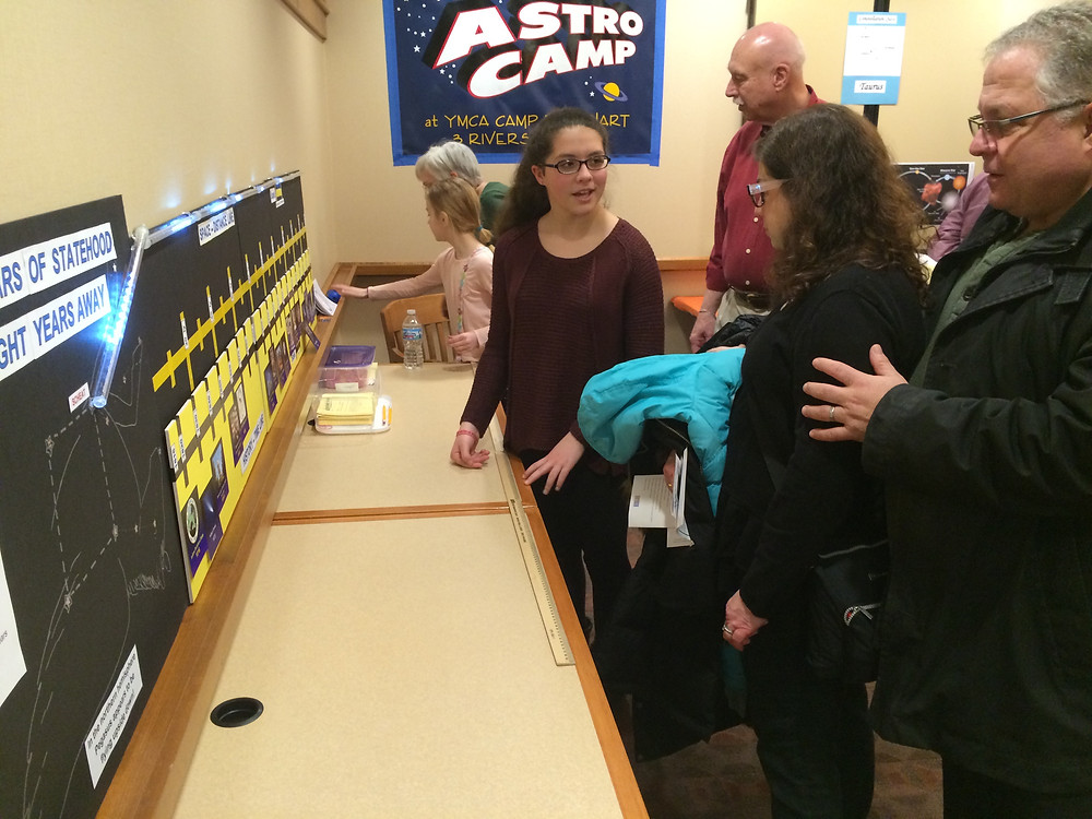 Visitors interact with exhibit at Science Alive