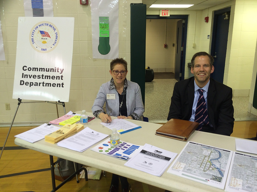 Community Investment Dept. at at Mayor's Night Out 2016