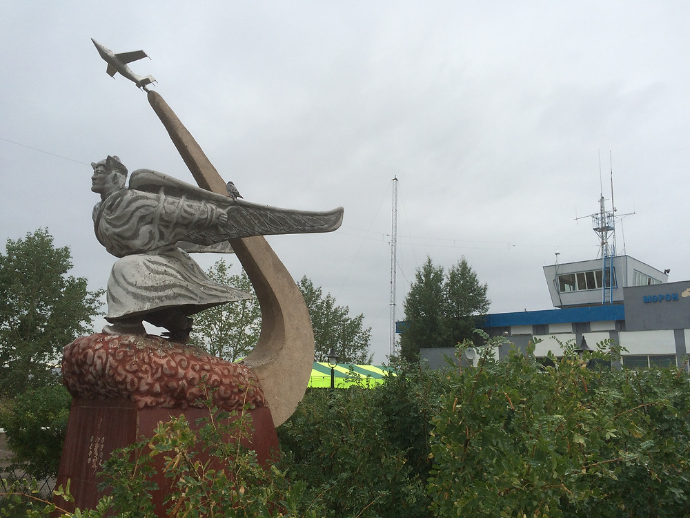 Statue in honour of Khainzan Gelenkhuu of Mongolia