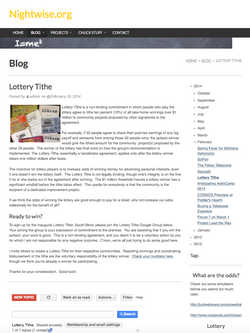 Nightwise.org : Lottery Tithe.png