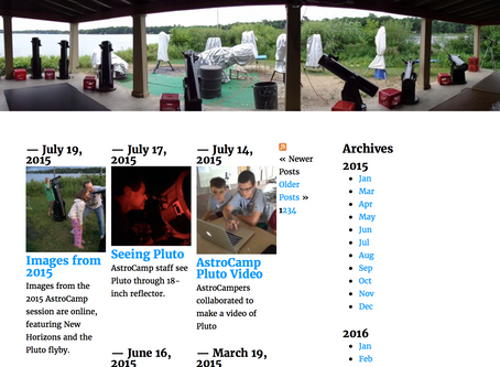 Archive of Website Content
