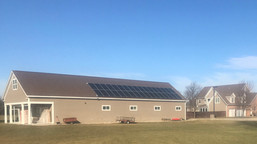 Solar Panels Power Church Rectory