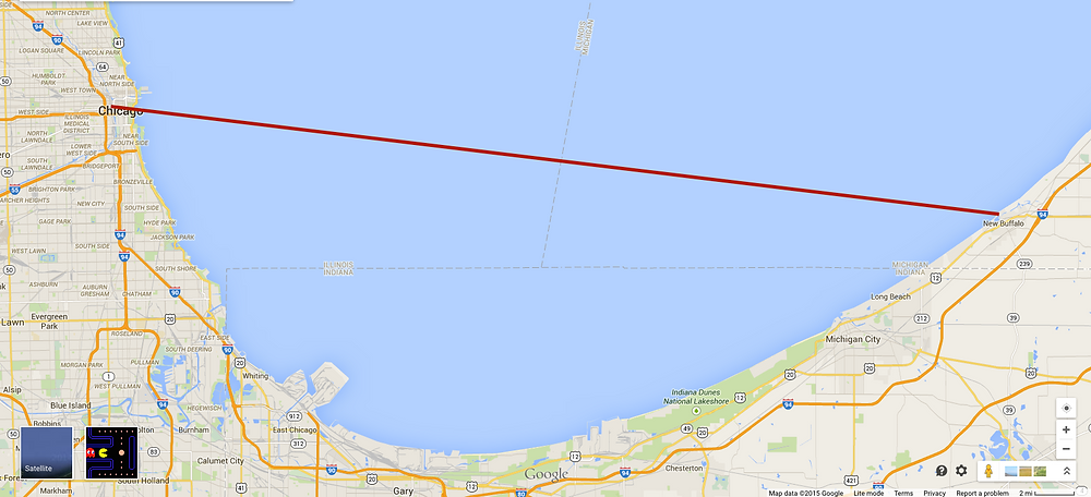 Chicago-New Buffalo line