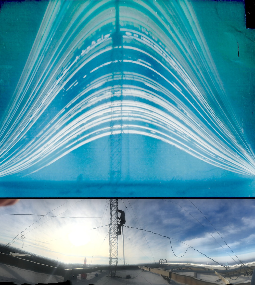Aloft solargraph paired with panorama