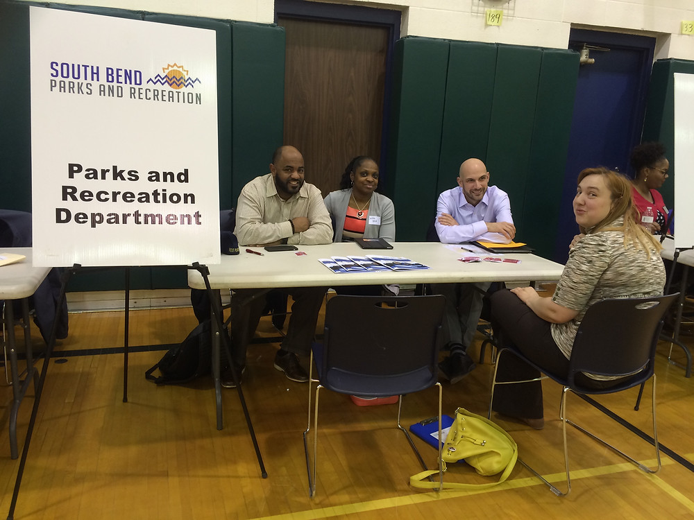 Parks and Recreation Dept. at Mayor's Night Out 2016