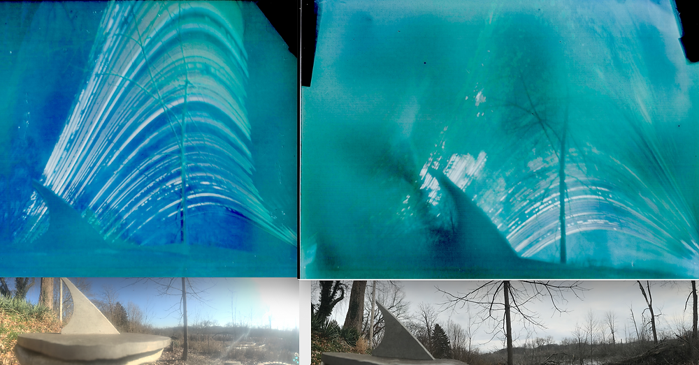 Solargraphs showing Dec 2019 to June 2020 (left) and June 2020 to Dec 2020