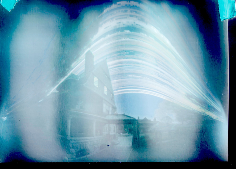 Solargraph image from the Oliver Mansion in South Bend, IN