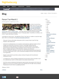 Nightwise.org : Forum 7 on March 1.png