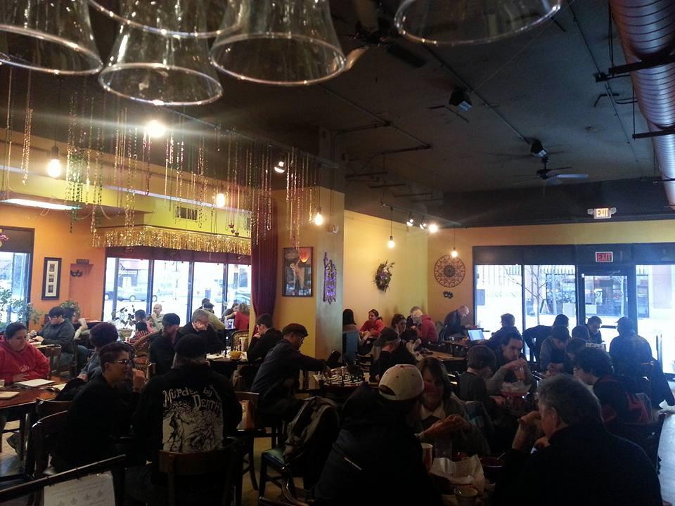 Restaurant interior; image courtesy of Chicory Cafe.