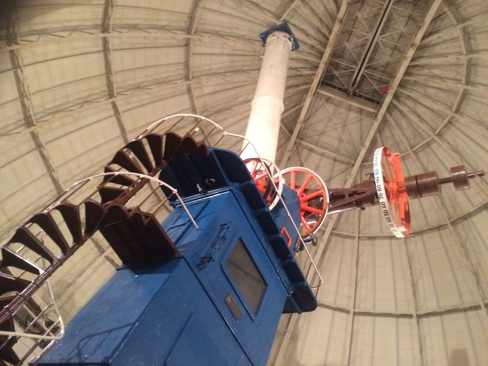 40-inch refractor telescope at Yerkes Observatory